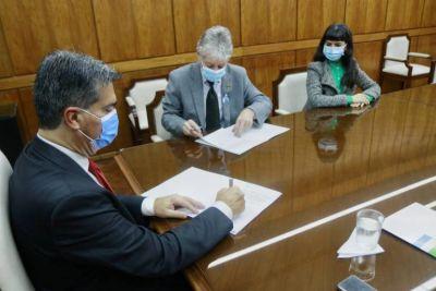 El Poder Legislativo rubricó la adhesión a la Ley Yolanda