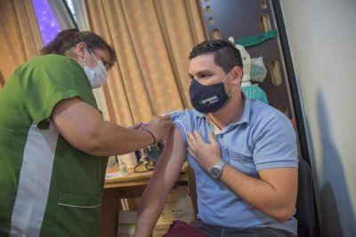 El Ministerio de Salud vacunó al personal del Ministerio de Gobierno y sus dependencias
