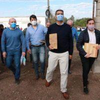 Machagai: Capitanich supervisó la ampliación del Centro Tecnológico de la Madera