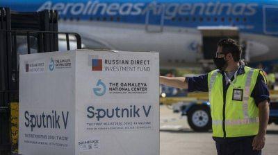 Misiones recibe  13.200 dosis del componentes 1 de Sputnik V