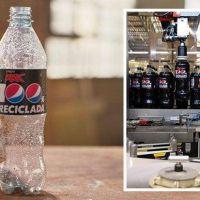 Pepsi presenta sus refrescos en envases de plástico 100% reciclado