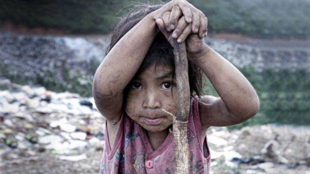 Según la UCA, tres de cada cuatro niños es pobre en el Conurbano bonaerense