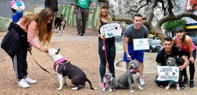 """El Sindicato de Trabajadores Caninos cuestionó el registro de perros """"potencialmente peligrosos"""" que se impulsa en La Plata"""
