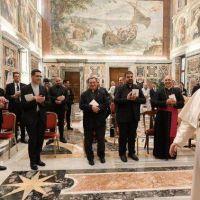 El Papa a seminaristas: el verdadero Pastor no se separa del Pueblo de Dios