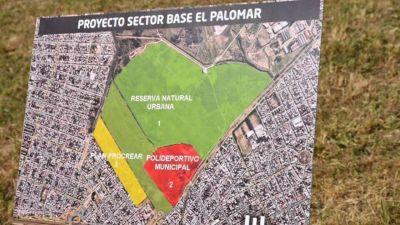 El Palomar: Los detalles del proyecto del Procrear, Reserva y Polideportivo