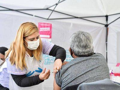 Más de 100 mil varelenses vacunados contra el Covid-19