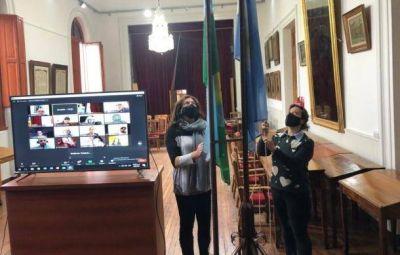 Sentidos homenajes a las víctimas del COVID en el Concejo Deliberante de Patagones