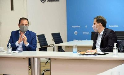 Comodoro: Luque se reunió con Martín Rodrigo Gill