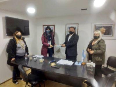 ATE presentó en el Hospital de Río Gallegos y Ministerio de Trabajo el nuevo protocolo para prevenir violencias