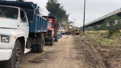 La comuna erradicó un gran foco infeccioso en el acceso al barrio Cuarto Centenario