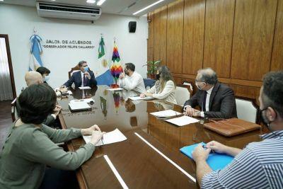 Cabandié visitó Chaco para avanzar en la agenda ambiental