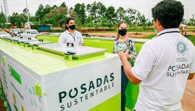 Ecopunto Móvil: en dos meses recolectaron casi 1400 kilos de residuos