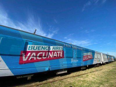 El Tren Sanitario recorre la Provincia: mirá los destinos