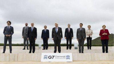 Líderes del G7 preparan una declaración