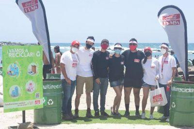 Punto ecológico en Playa Los Cocos