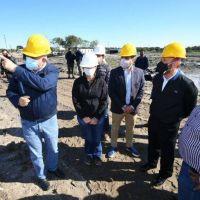 Insfrán y Cabandié visitaron el predio del futuro Centro Ambiental de residuos sólidos