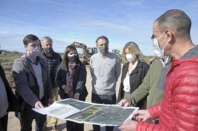 Buenos Aires: Katopodis recorrió obras viales en Cañuelas