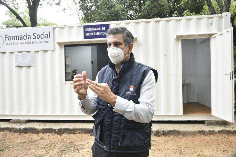 Pastoral estrena farmacia social en la cual entregará medicamentos en forma gratuita