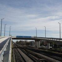 Se inauguró en Merlo el primero de los puentes modulares para la línea Sarmiento