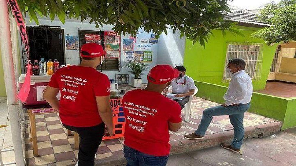 Finsocial y Coca Cola se unen para apoyar a los emprendedores del país
