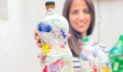 Juntaron 130 kilos de plástico en el inicio de la competencia de recolección para reciclaje