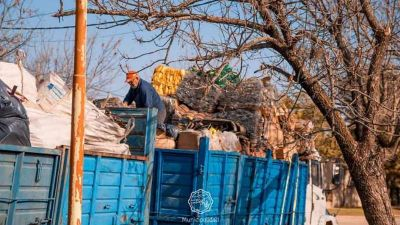 Más de 7 mil kilos de residuos para reciclaje