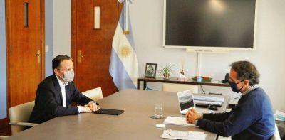 El intendente de Esteban Echeverría denunció que el Gobierno discrimina la entrega de ayuda alimentaria