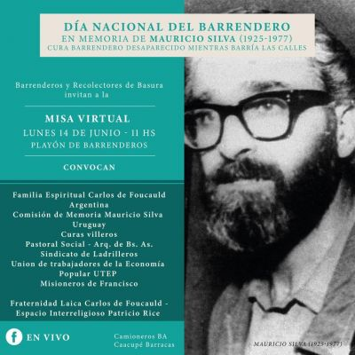 Quien fue el asesinado sacerdote barrendero por el cual se conmemora el 14 de junio como el Día del Barrendero en Argentina