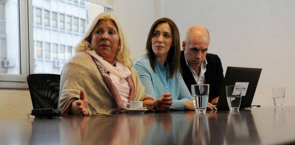 El enojo de Elisa Carrió, el silencio de María Eugenia Vidal y la gran Florencio Randazzo en el PRO
