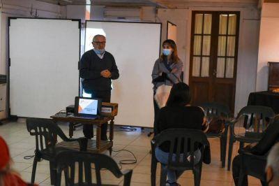 Plan de gestión de residuos: Ambiente se reunió con referentes vecinales