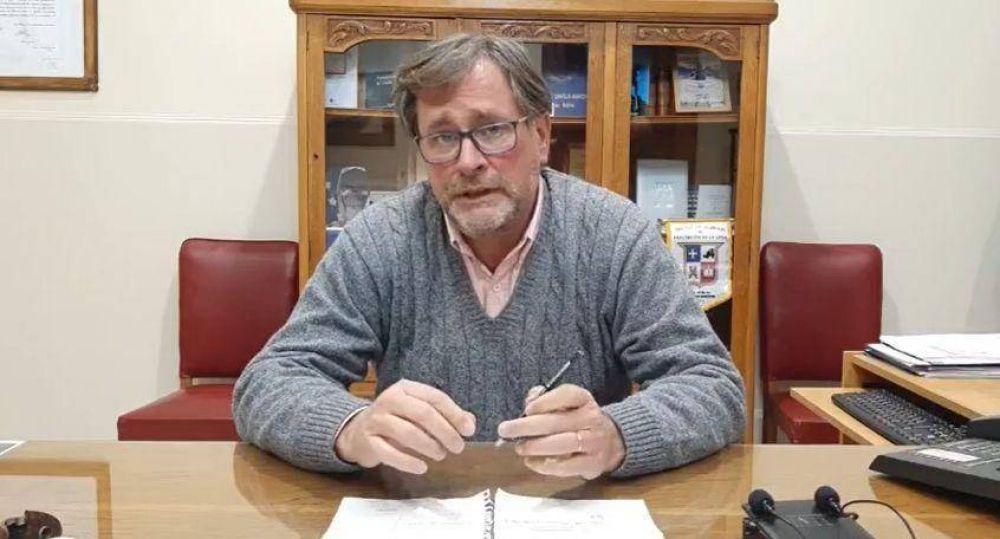 Federico cuestionó el aprovechamiento político en el marco de la pandemia