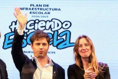 Primer trimestre: Moreno recibió 200 millones de pesos para educación