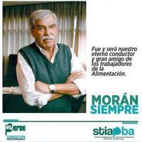 El STIAPBA recordó a Luis Bernabé Morán
