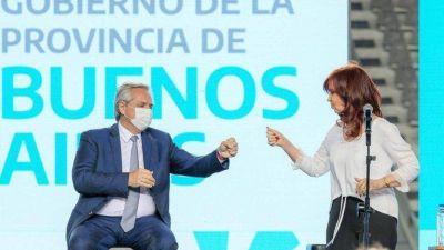 Con Alberto Fernández y Cristina Kirchner en primera línea, el Gobierno empezó a mostrar sus cartas electorales