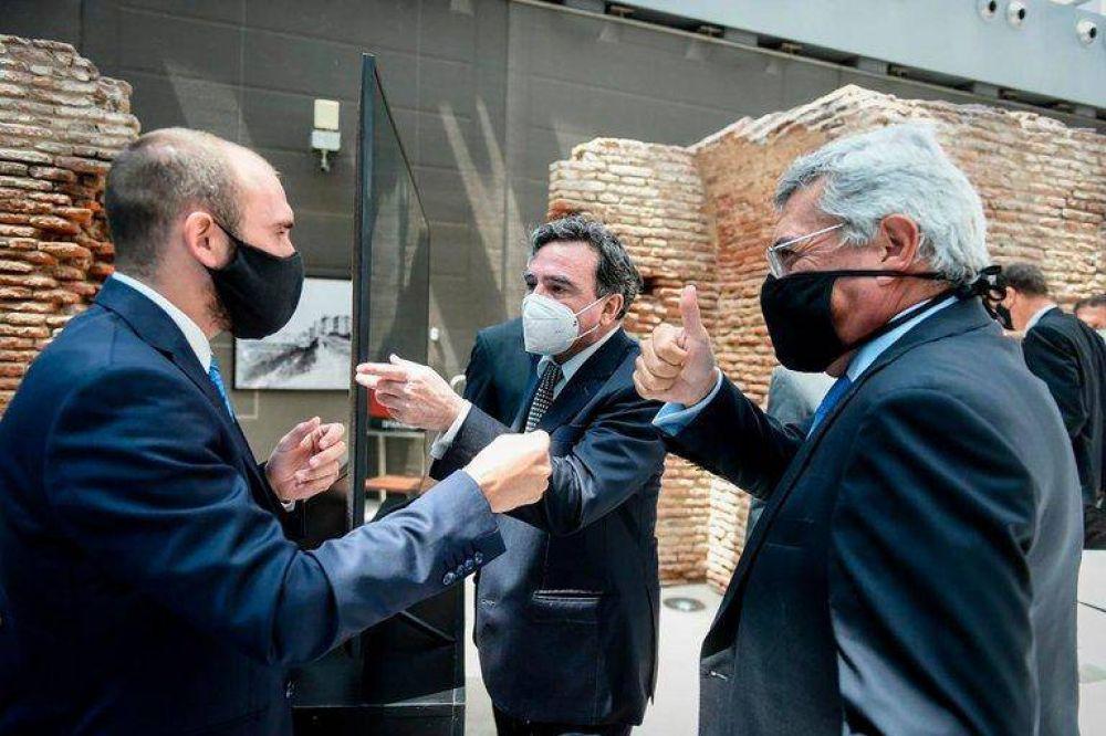 Martín Guzmán sale a defender la gestión del Gobierno ante empresarios tras el malestar con la conducción de la UIA