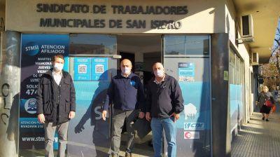 FONCAP y el Sindicato de Trabajadores Municipales de San Isidro firmaron convenio en beneficio de la familia municipal