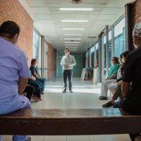 Abella destacó el trabajo del personal del Hospital San José