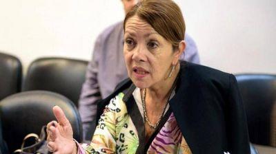 Presidente Perón: vialidad construye dos rotondas pedidas por Blanca Cantero