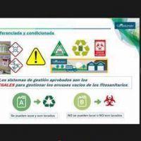 """El RENATRE finalizó un curso sobre """"Gestión de envases vacíos de fitosanitarios"""" para 93 personas en Buenos Aires"""