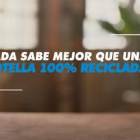 Llegan las botellas de refrescos con un 100 % de plástico reciclado