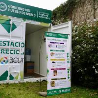 Merlo | El Municipio instaló una nueva estación de reciclado en San Antonio de Padua