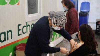 Más de 110 mil vecinos de Esteban Echeverría recibieron su vacuna contra el coronavirus