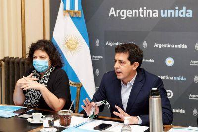 De Pedro y Vizzotti traerán esta tarde insumos y vacunas a Córdoba