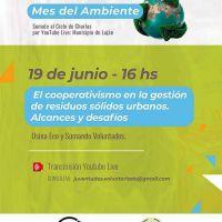 Charla sobre el cooperativismo en la gestión de residuos sólidos urbanos
