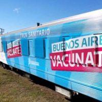 El tren sanitario bonaerense llegará a Mar del Plata