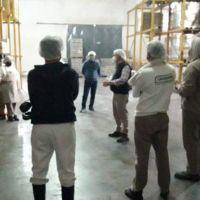 STIA Córdoba visitó la alimenticia Ridolfo