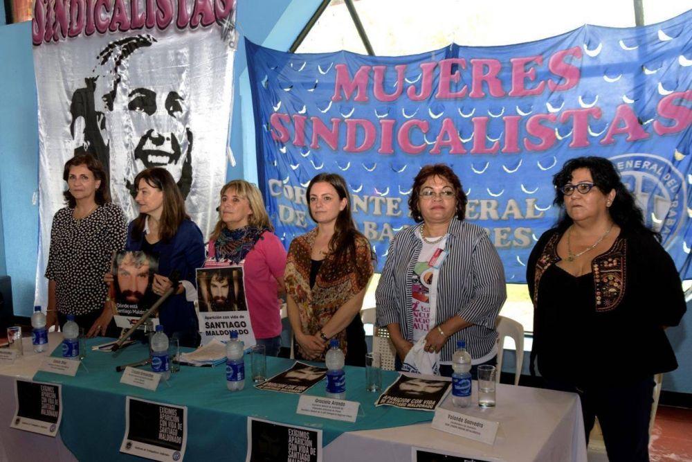 """Mujeres sindicales y un pedido clave: """"Queremos estar en la foto"""""""