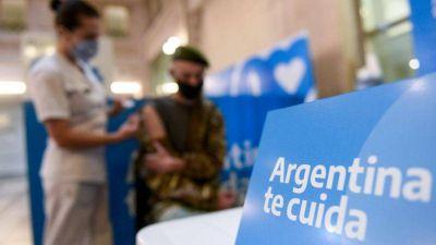 Argentina superó el 30% de la población con al menos una dosis