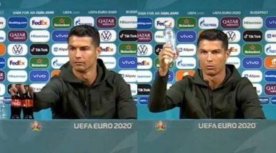 Coca Cola le respondió a Cristiano Ronaldo luego de la pérdida que le produjo