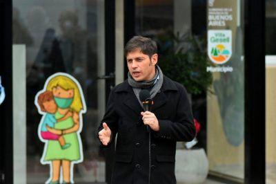 """Kicillof: """"Mar del Plata está muy cerca de volver a tener clases presenciales"""""""